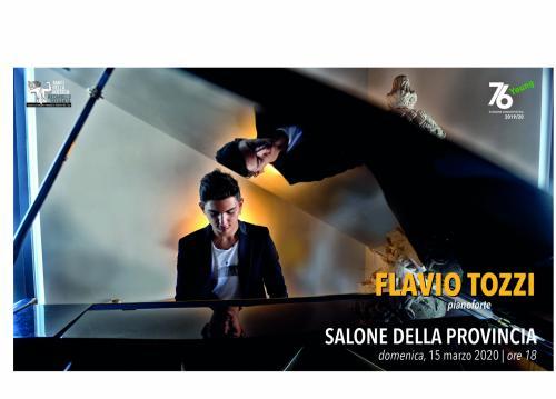 FLAVIO TOZZI, pianoforte