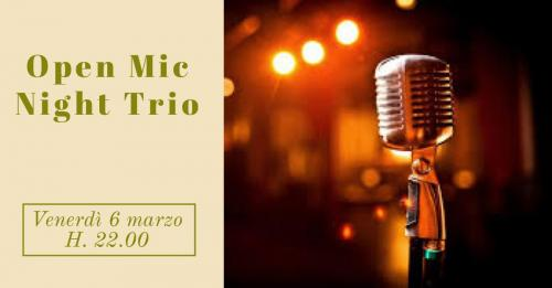 Open Mic Night Trio