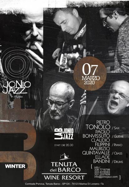 Jonio Jazz Lab |||  BANDINI - TONOLO - BONVISSUTO - FILIPPINI - QUINTAVALLE /  Live