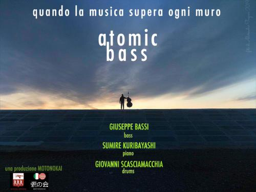 GIUSEPPE BASSI TRIO WITH SUMIRE KURIBAYASHI - ATOMIC BASS