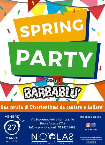 SPRING PARTY con i Barbablù