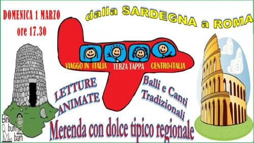 VIAGGIO IN ITALIA. Dalla Sardegna a Roma
