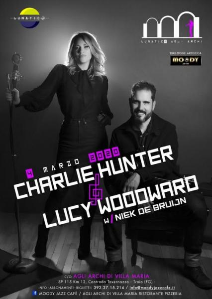 Charlie Hunter & Lucy Woodward trio live concert