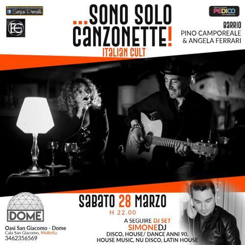 Italian cult Barrio live + Simone DJ a Molfetta