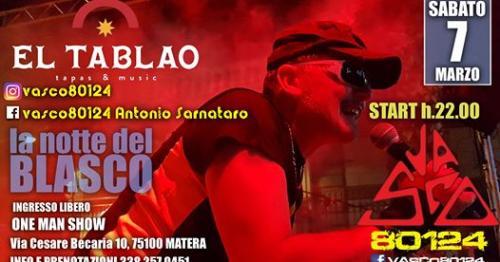 Vasco80124-Antonio Sornataro Live