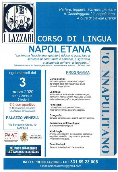 Corso lingua napoletana