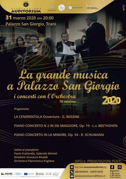 La grande musica a Palazzo San Giorgio 2020
