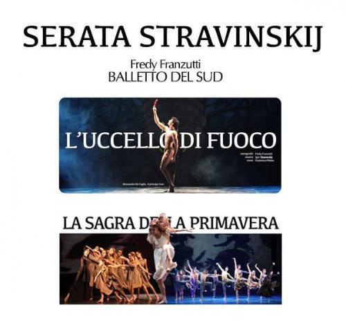Serata Stravinskij con il Balletto del Sud