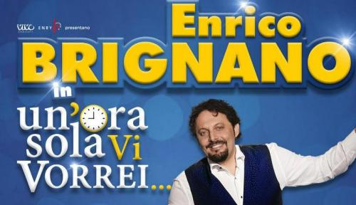 """Enrico Brignano al Teatro Team con """"Un'ora sola vi vorrei"""""""