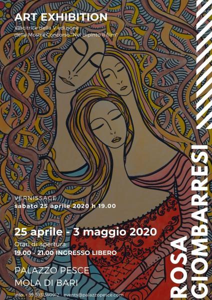 Rosa Giombarresi Art Exhibition