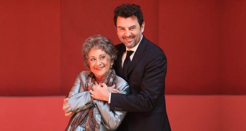 GIACOMINO E MAMMÀ tratto da Conversaciones con Mamà on stage a Bisceglie