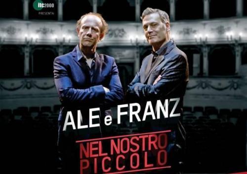 """Ale e Franz on stage a Foggia con """"Nel Nostro Piccolo"""""""