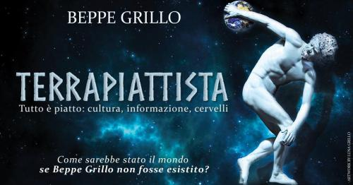 """Beppe Grillo al Teatro Olimpico con """"Terrapiattista"""""""
