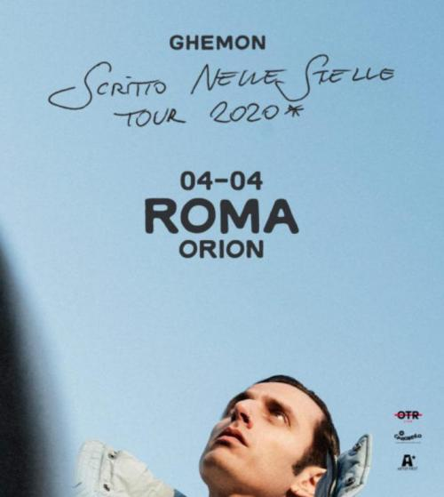 Ghemon all'Orion di Ciampino