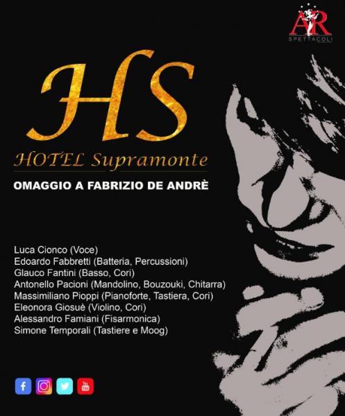 Hotel Supramonte - Omaggio a Fabrizio De Andre'