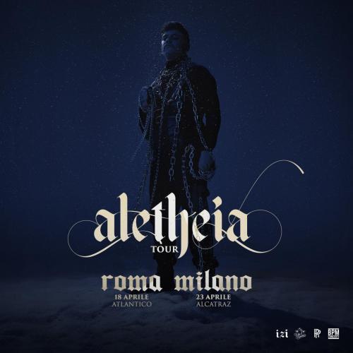 Izi live a Roma per l'Aletheia Tour