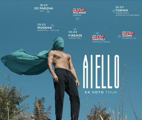 Aiello live a Roma