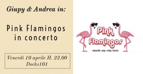 Pink Flamingos in concerto