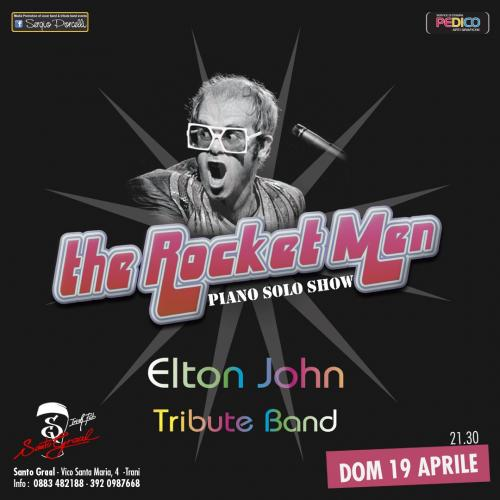 The Rocket Men - Elton John Tribute - Piano solo show a Trani