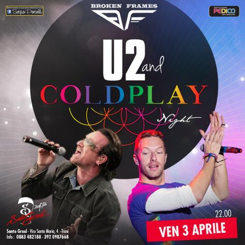 Broken Frames - Original Band - U2 & Coldplay Tribute a Trani