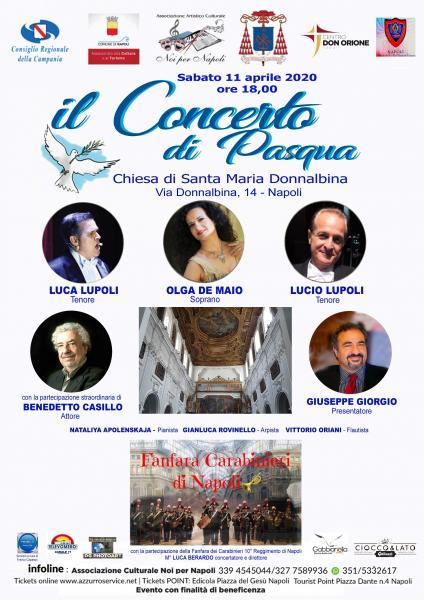 Concerto di Pasqua 2020 presso Santa Maria in Donnalbina