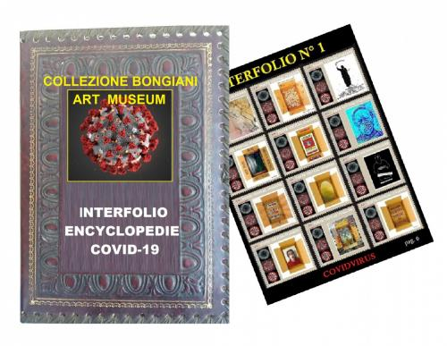 Artistamps / Interfolio All'encyclopedie Covid 19
