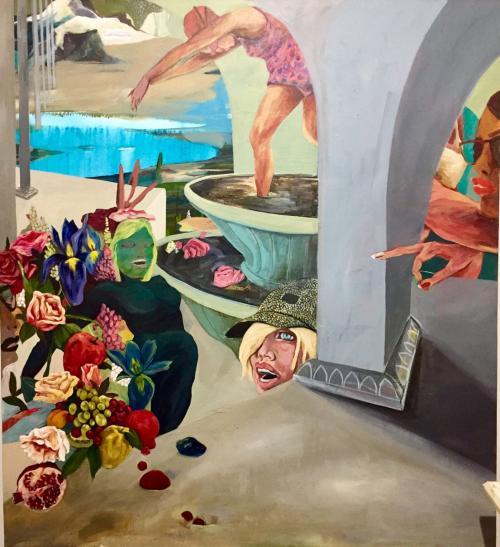Saghar Daeiri – Swallow-Kiss-Burn (mostra online)