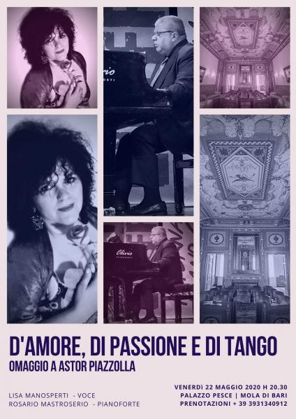 D'amore, di passione e di tango [Omaggio ad Astor Piazzolla]