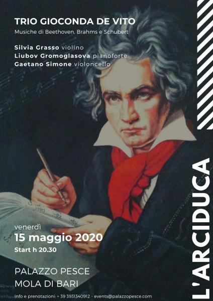 L'arciduca [Trio Gioconda De Vito per il 250° anniversario di Beethoven]