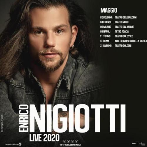 Enrico Nigiotti live a Napoli
