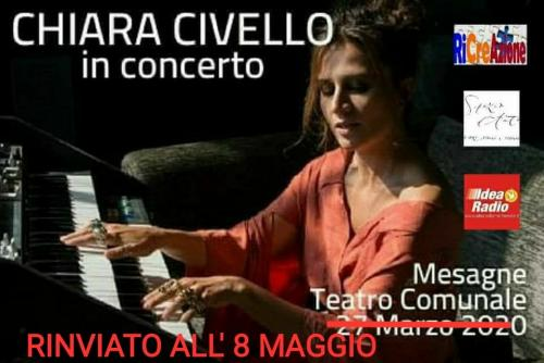 "Chiara Civello live concert ""Eclipse Tour"""