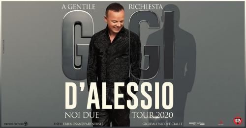 Gigi D'Alessio in concerto a Roma