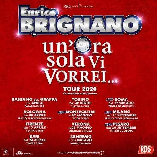 Enrico Bignano al Brancaccio rinviato a Maggio