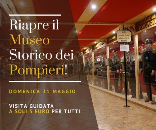 Riapre il Museo Storico dei Pompieri: domenica 31 maggio visita guidata a soli 5 euro per tutti!
