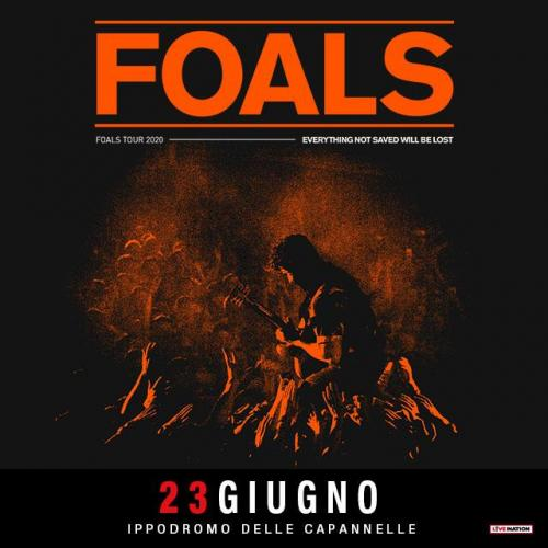 "Foals per ""Rock in Roma"""