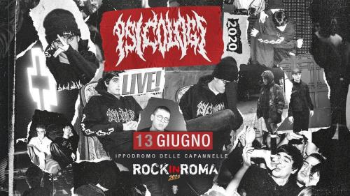 Psicologi + Guests per Rock in Roma