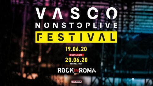 Vasco live a Roma per due imperdibili date