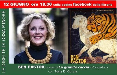 diretta Facebook con Ben Pastor