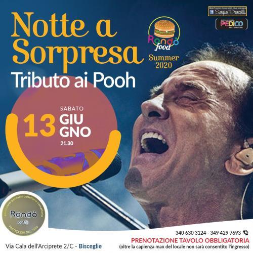 Notte a sorpresa - Tributo ai Pooh - live a Bisceglie