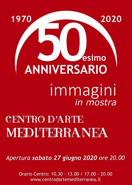 Immagini in mostra - cinquantenario del Centro d'Arte Mediterranea