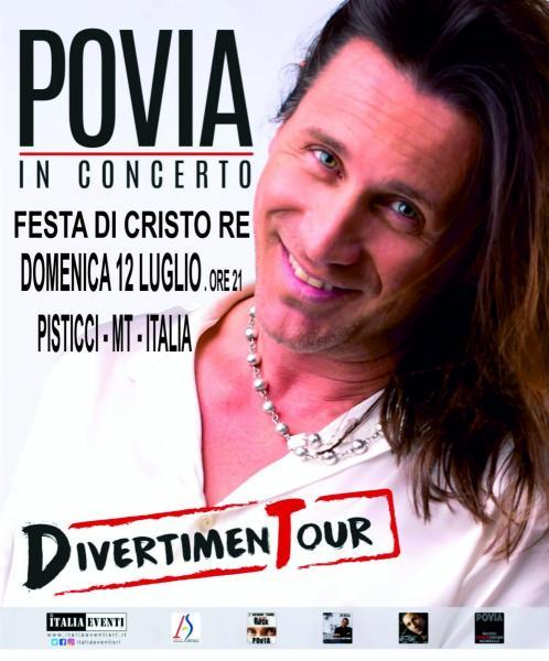 Festa di CRISTO RE - Pisticci - POVIA live concert