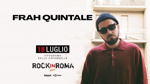 Frah Quintale tra i protagonisti di Rock in Roma