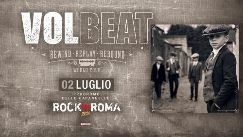 I Volbeat tornano in Italia per Rock in Roma