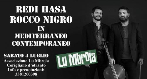 Redi Hasa e Rocco Nigro: Mediterraneo Contemporaneo
