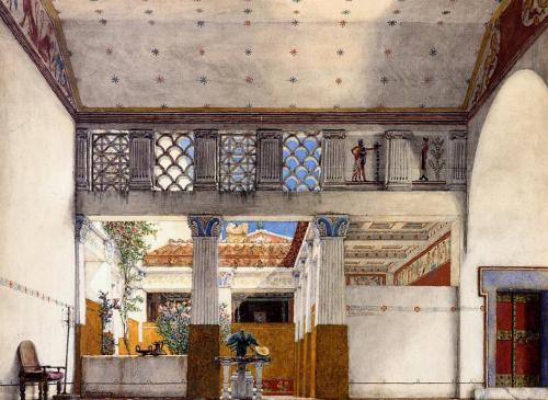 Le Abitazioni Degli Antichi Romani