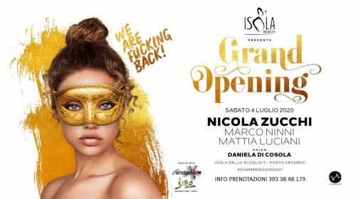 Opening / Isola Beach - Porto Cesareo - We Are Fucking Back