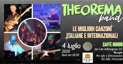 Theorema band live - Rondò Caffè Bisceglie