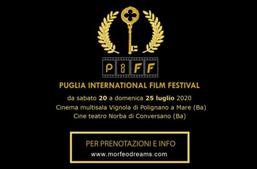 Torna il Puglia International Film Festival 2020