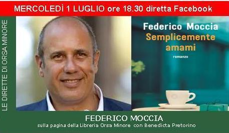 Diretta Facebook con Federico Moccia