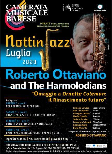 """Roberto Ottaviano per le """"Notti in Jazz"""""""